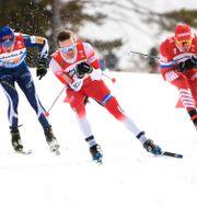 Norge tog hem VM-guldet i stafetten. Fredrik Sandberg/TT / TT NYHETSBYRÅN