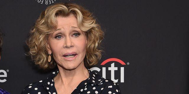 Jane Fonda.  Richard Shotwell / TT NYHETSBYRÅN