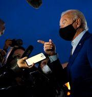 Joe Biden i Detroit, Michigan, inatt. Patrick Semansky / TT NYHETSBYRÅN