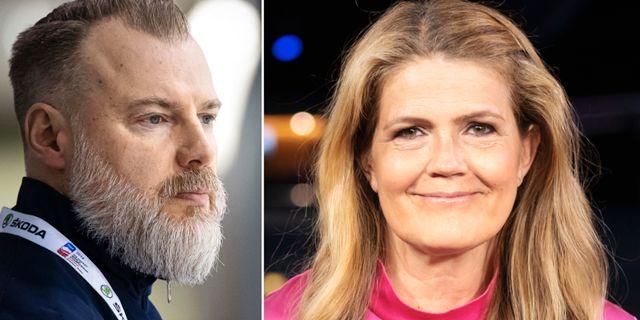 Rikard Grönborg och Marie Lehmann. Bildbyrån