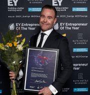 Christian Jansson, vd på Giab, vann priset Christian Jansson, Årets sociala entreprenör 2020. Teodor Axlund