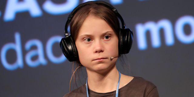 Greta Thunberg. Bernat Armangue / TT NYHETSBYRÅN