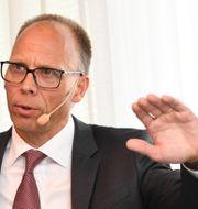 Frank Vang-Jensen. Jonas Ekströmer/TT / TT NYHETSBYRÅN