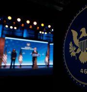 Arkivbild: Tillträdande president Joe Biden och vice-president Kamala Harris.  Matt Slocum / TT NYHETSBYRÅN