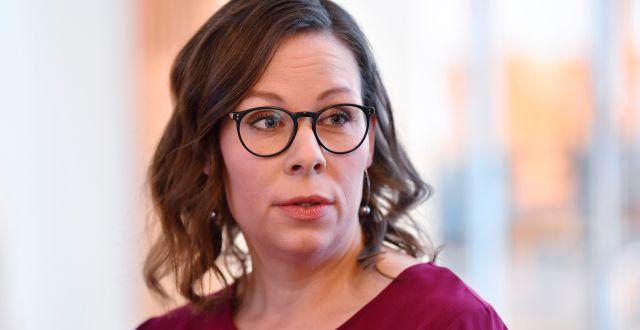 Maria Malmer Stenergard (M). Anders Wiklund/TT / TT NYHETSBYRÅN