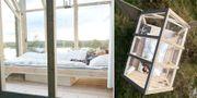 Här är glaskabinen som sägs få stressnivåerna att sjunka med 70 procent på 72 timmar. Jonas Ingman/Westsweden.com