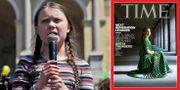 Greta Thunberg. TT/skärmbild