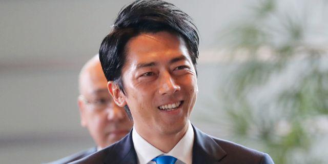 Shinjiro Koizumi. Koji Sasahara / TT NYHETSBYRÅN