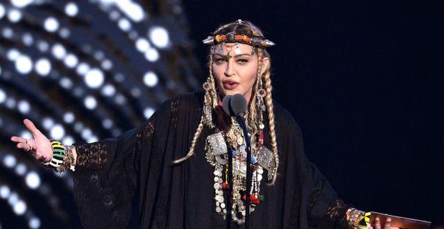Madonna. Chris Pizzello / TT NYHETSBYRÅN