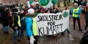 Demonstranter i Rinkeby. Christine Olsson/TT / TT NYHETSBYRÅN