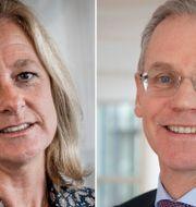 Allison Kirkby och Rickard Gustafson. Arkivbilder. TT