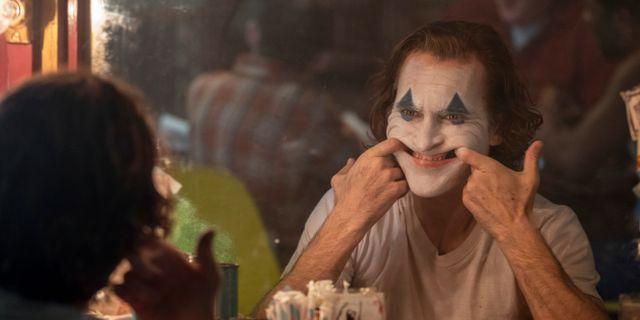 """Joaquin Phoenix i en scen i filmen """"Joker"""" Niko Tavernise / TT NYHETSBYRÅN"""