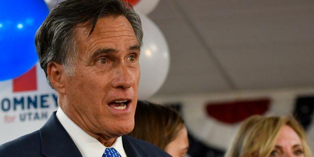 Mitt Romney. Gene Sweeney Jr. / TT NYHETSBYRÅN