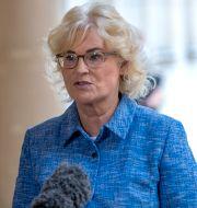 Arkivbild: Tysklands justitieminister Christine Lambrecht.  Michael Sohn / TT NYHETSBYRÅN