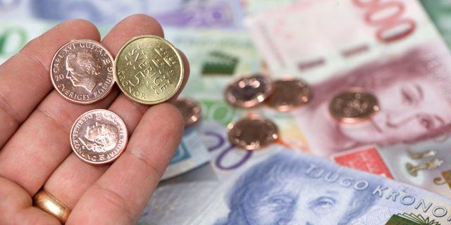 Pengar. Fredrik Sandberg/TT / TT NYHETSBYRÅN