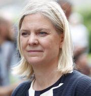 Finansminster Magdalena Andersson (S). Christine Olsson/TT / TT NYHETSBYRÅN