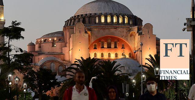 Hagia Sofia. TT