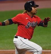 Jose Ramirez i Cleveland Indians. David Dermer / TT NYHETSBYRÅN