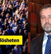 Johan Eklund, vd för Entreprenörskapsforum. TT