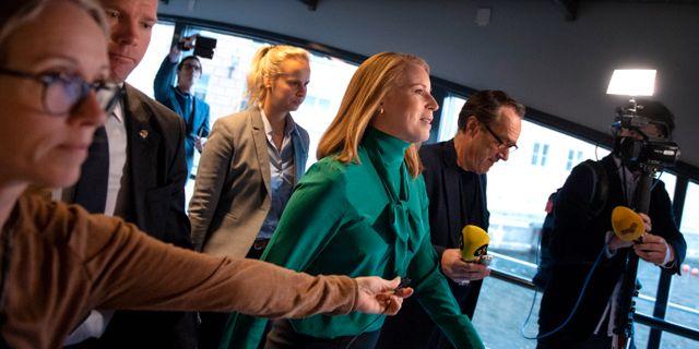 Annie Lööf. Jessica Gow/TT / TT NYHETSBYRÅN