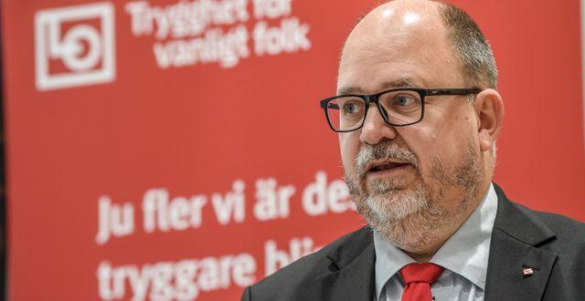 Karl-Petter Thorwaldsson avgår som LO:s ordförande vid kongressen den 15 juni.  Fredrik Sandberg/TT / TT NYHETSBYRÅN