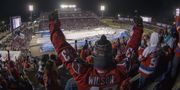 Wahington fans på United States Naval Academy. Mitchell Leff / GETTY IMAGES NORTH AMERICA