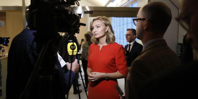 KD-ledaren Ebba Busch Thor  Christine Olsson/TT / TT NYHETSBYRÅN