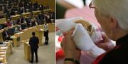 Arkivbilder, riksdagen/hambugare
