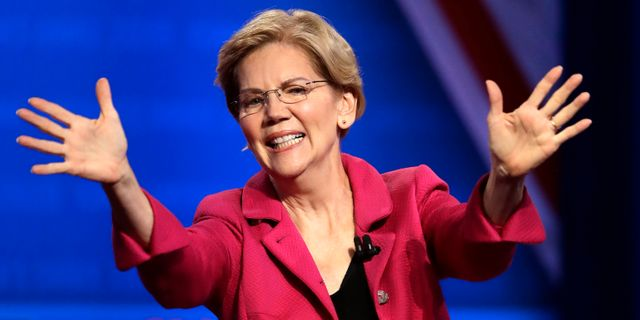 Elizabeth Warren. Marcio Jose Sanchez / TT NYHETSBYRÅN