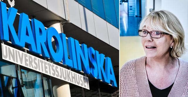 Stockholms läns landstings finanslandstingsråd Irene Svenonius (M). TT