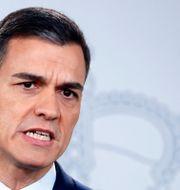 Pedro Sánchez. JUAN MEDINA / TT NYHETSBYRÅN