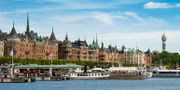 Strandvägen på Östermalm i Stockholm.  Claudio Bresciani/TT / TT NYHETSBYRÅN