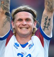 Jesper Löfgren och Ari Skulason.  TT