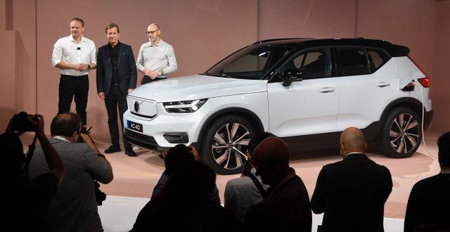 Volvo Cars. Michael Owen Baker / TT NYHETSBYRÅN