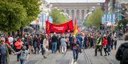 Arkivbild. Vänsterpartiets förstamajtåg i Göteborg. Adam Ihse/TT / TT NYHETSBYRÅN