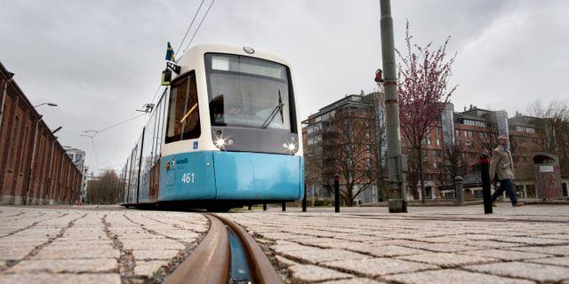 Spårvagn i Göteborg. Björn Larsson Rosvall/TT / TT NYHETSBYRÅN