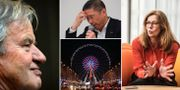 Arkivbilder: Bjørn Kjos, Hiroto Saikawa, pariserhjulet på Champs Elysée i Paris samt Birgitte Bonnesen. TT