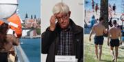 Gotlandsfärja/Johan Carlson/Badstrand.  TT