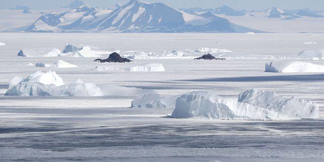 Richard Parks skidade ensam över Antarktis. / ASSOCIATED PRESS / TT / TT NYHETSBYRÅN