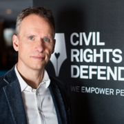 John Stauffer, chefsjurist på Civil Rights Defenders David Lagerlöf