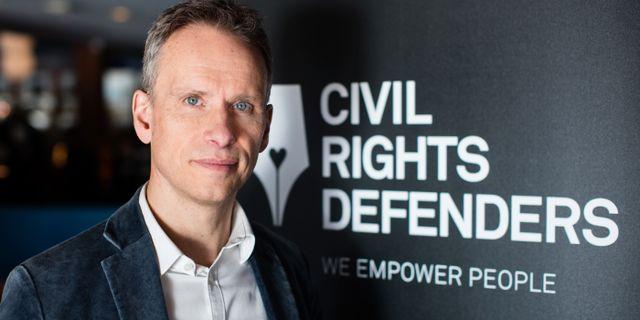 John Stauffer, chefsjurist på Civil Rights Defenders David Lagerlöf