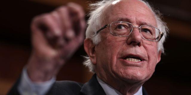 Bernie Sanders. WIN MCNAMEE / GETTY IMAGES NORTH AMERICA