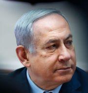 Benjamin Netanyahu. RONEN ZVULUN / TT NYHETSBYRÅN