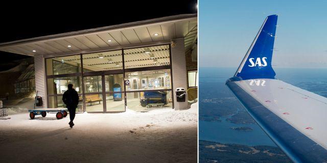 Illustrationsbild från Luleå airport.  TT