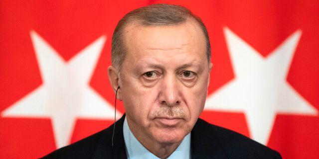 Turkiets president Recep Tayyip Erdogan.  POOL New / TT NYHETSBYRÅN