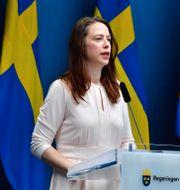 Åsa Lindhagen, jämställdhetsminister. Jonas Ekströmer/TT / TT NYHETSBYRÅN