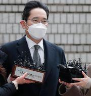 SamsungArkivbild: Samsungs vice ordförande och de facto ledare Lee Jae-yong, 18 januari 2021.  Lee Jin-man / TT NYHETSBYRÅN