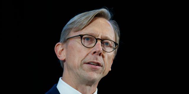 Brian Hook.  Carolyn Kaster / TT NYHETSBYRÅN