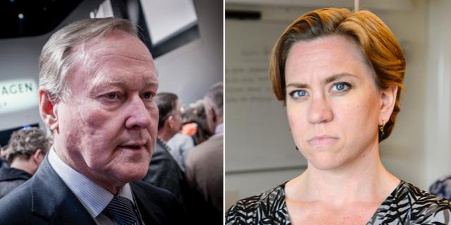 Leif Östling och Maria Mattsson Mähl.  TT