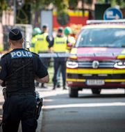 Polisen i Malmö.  Johan Nilsson/TT / TT NYHETSBYRÅN
